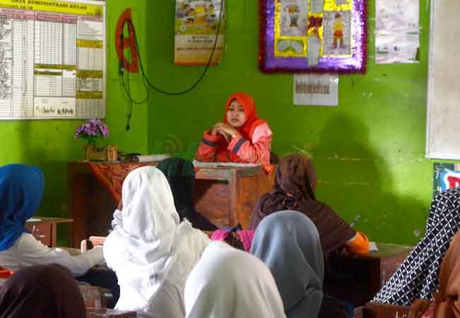 Ramadan Asik dengan Siswa Sekolah Formal