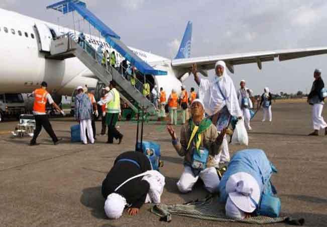 Tradisi Menyambut Jamaah Haji