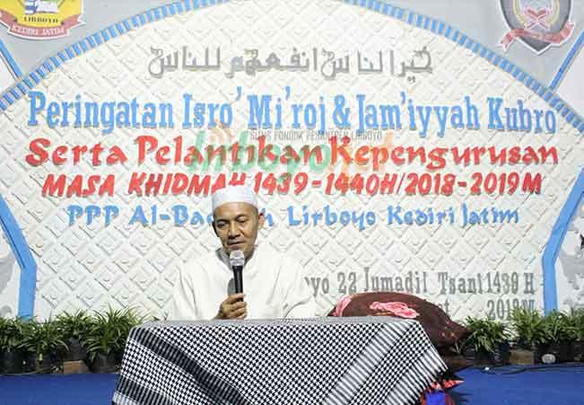 Peringatan Isro' Mi'roj Ponpes Putri Al- Baqoroh