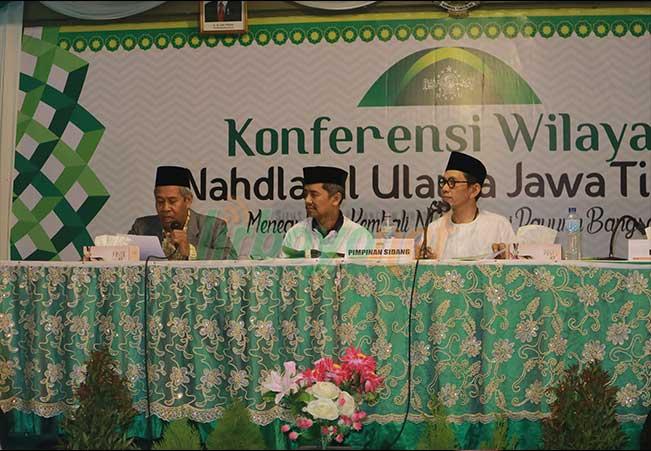 Penutupan Konferwil PWNU Jawa Timur