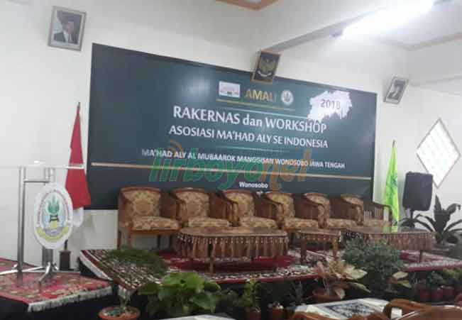 Rakernas dan Workshop Asosiasi Ma'had Aly se Indonesia (AMALI)