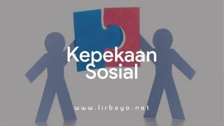 Kepekaan Sosial