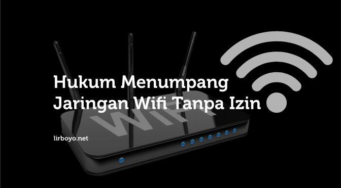Hukum Menumpang Jaringan WiFi